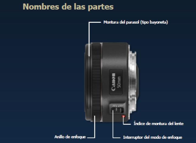 c50402680a Lente Canon EF50mm f/1.8 STM Ktronix Tienda Online