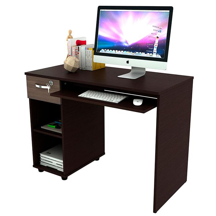 Escritorio practimac siena v4 wengue ktronix tienda online for Tableros para escritorios